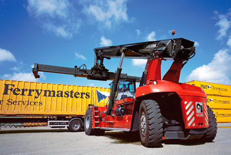 Xe Nâng Container KALMAR DRF450 NEW