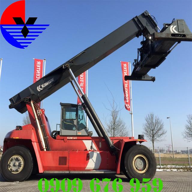 Xe nâng xếp container KALMAR DRF450-60S5-2009